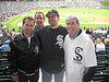 White Sox 09 : 9-June-2009 at The US Cellular Field on Chicago's south side with Dad, Mom,Darin,Doane (Doron) and Bob, the Sox made a spectacular comeback in the bottom of the 9th only to choke in the 10th to Detroit  (it was 53 degrees)